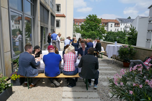 m-pathy UX Insight Days 2018 Review Feierabend Dachterrasse